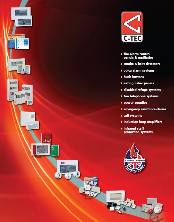C-Tec Apollo Series 65 base for Apollo Optical Smoke and Heat Detector Alarms