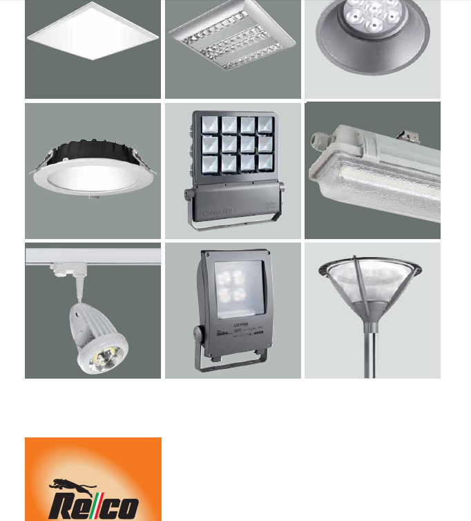 Relco 照明产品lighting Products 泛湃机电 86 13980623463