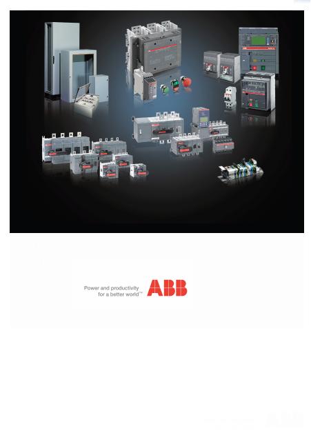 ABB低压电气控制产品Low voltage electrical control (18BKFLSO)