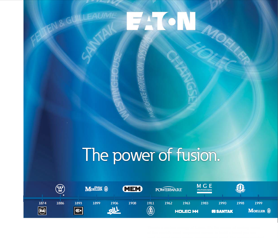 EATON Electrical 伊顿电气 (18BYTPO)