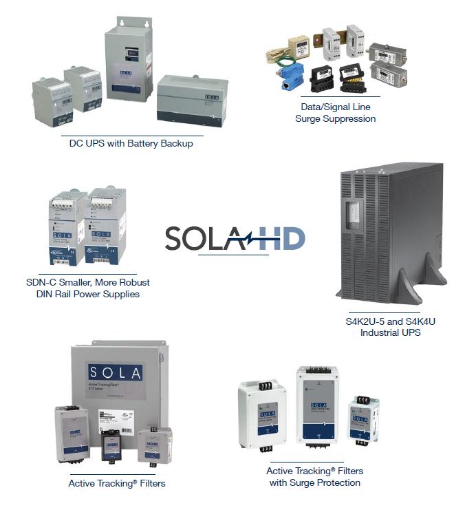 SOLA / SOLA HD工业电源(开关电源,UPS 应急电源和变压器