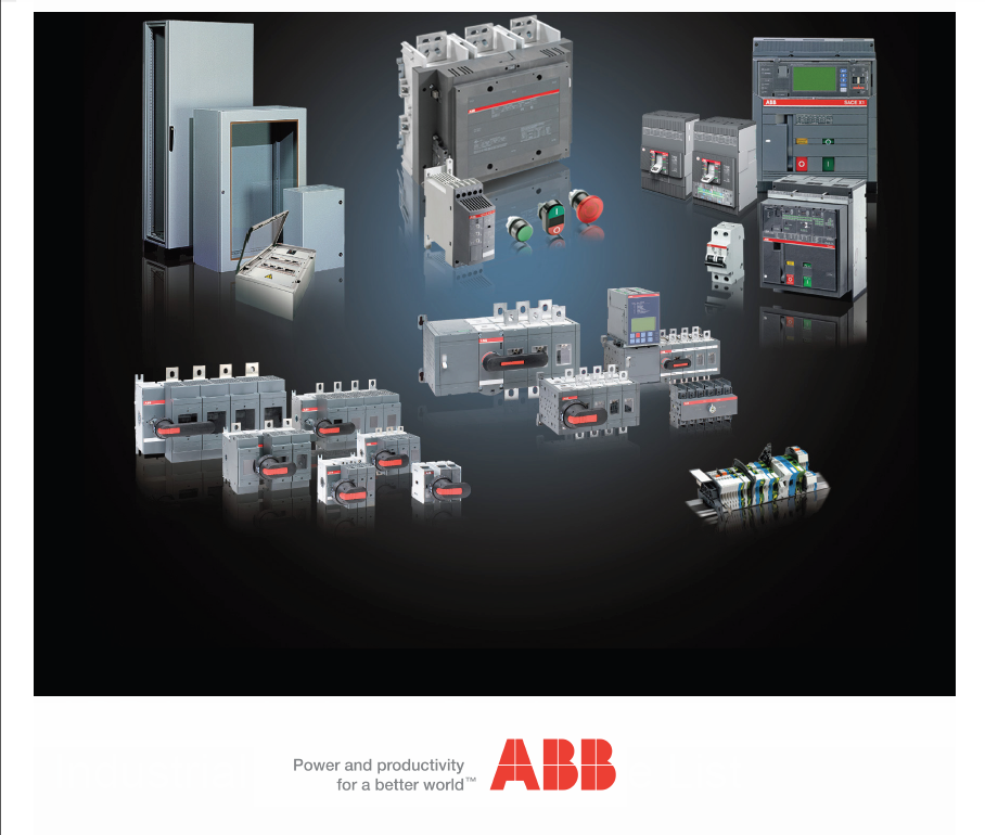 ABB 低压产品Low voltage products (19BLKWO )
