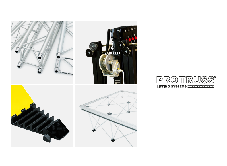 Protruss-舞台升降架设备Lifting systems for Music & Lights