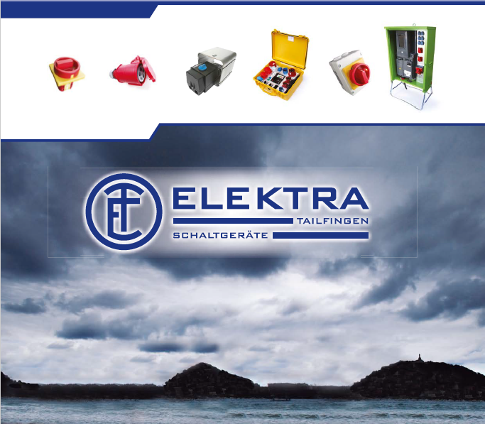 ELEKTRA - 转换开关Cam switches,工业连接器Industrial plugs and sockets