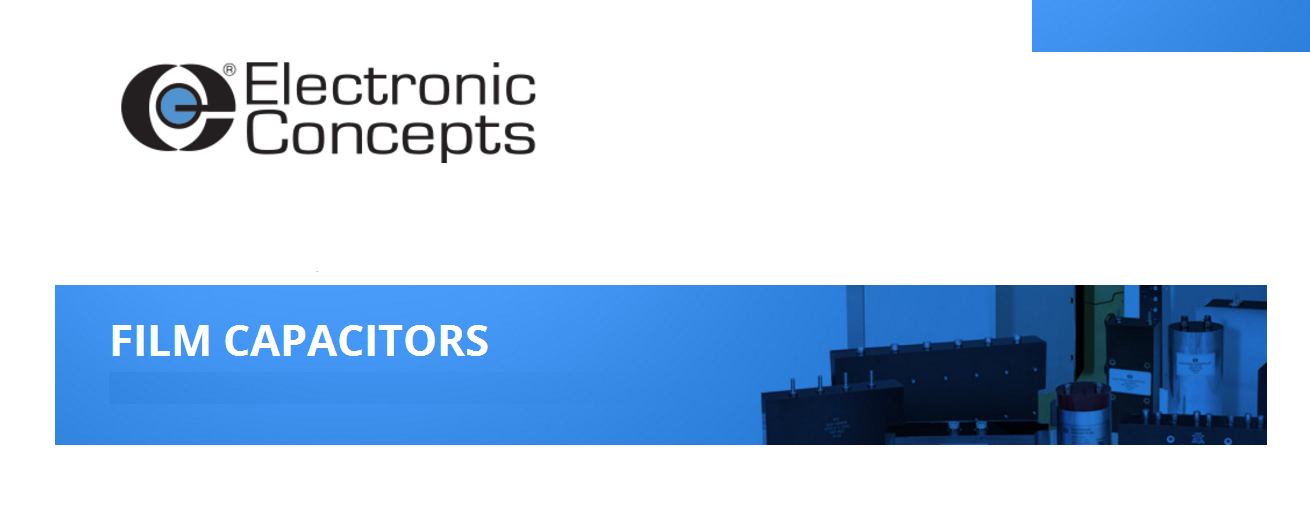 Electronic Concepts 电容(器) Capacitors
