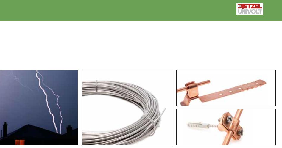 Univolt (Dietzel univolt)塑胶(管材)制品 和接地防雷系统... ...