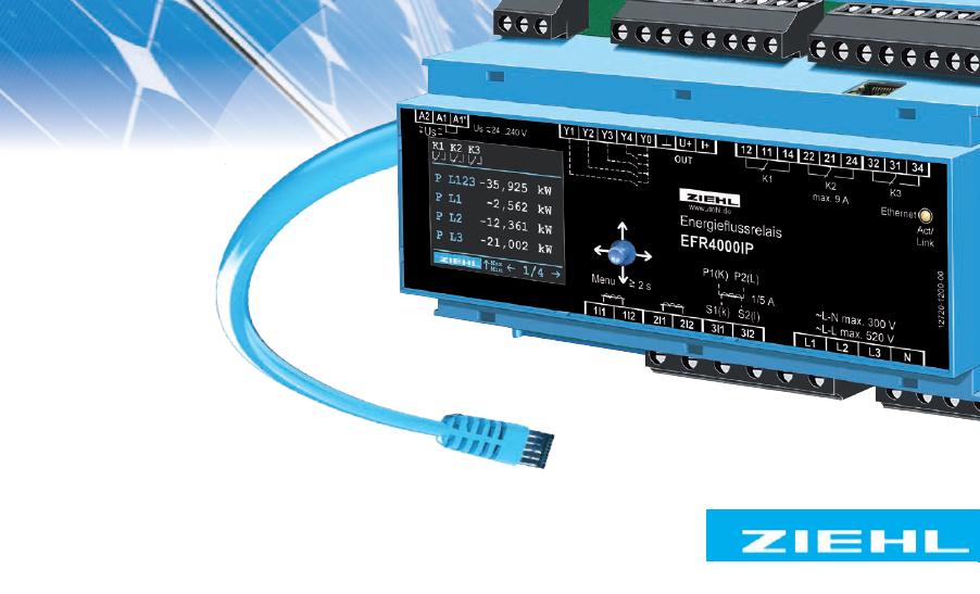 ZIEHL 测量 / 控制Measuring/ Controlling