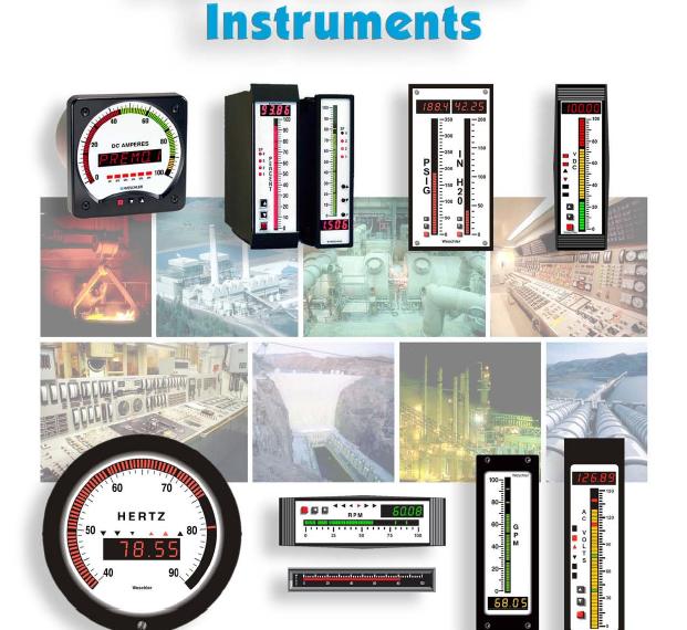电力和过程控制系统(测量/监控)仪器仪表(MG;W-R)Instruments for Power and Process Measurements
