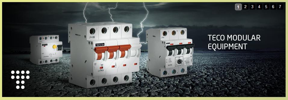 TECO电气控制和照明Electrical control and lighting