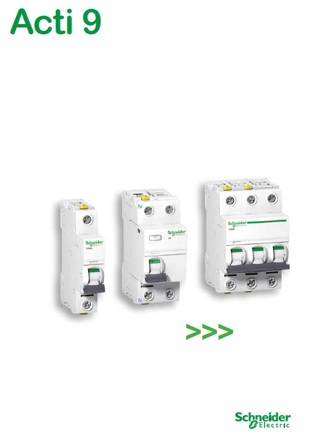 Schneider Electric施耐德电气Acti 9系列产品(BKJO)