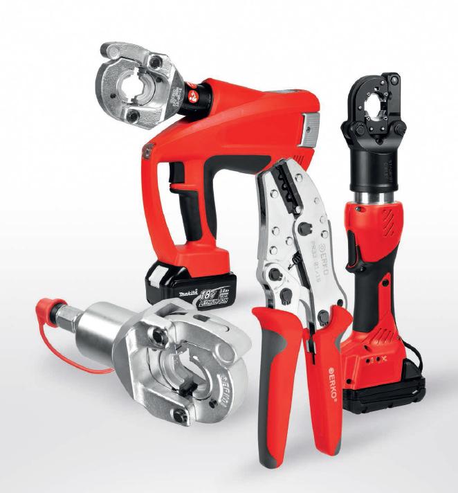 ERKO - 冷压端子,连接器和工具/设备...