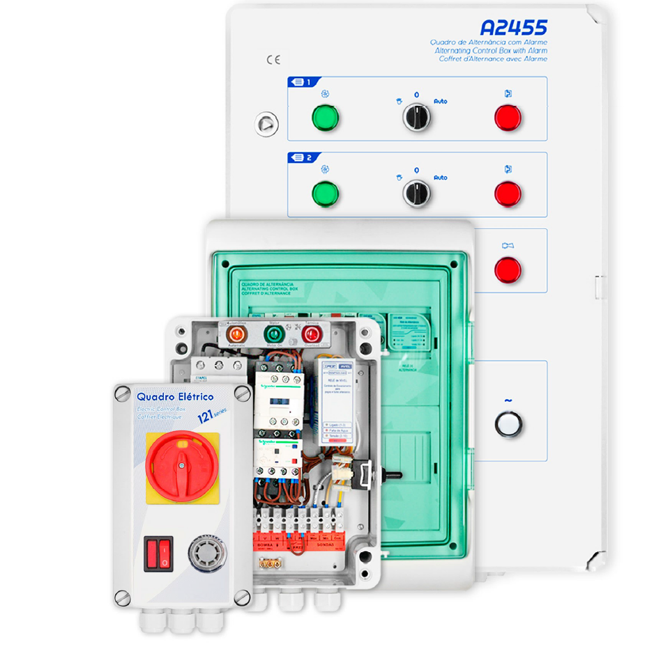 Avel - 继电器和水泵控制箱Relay and pump control box