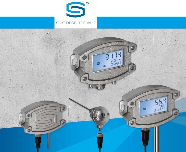 S + S Regeltechnik楼宇控制-传感器sensor