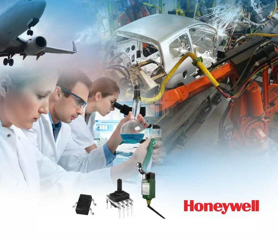 Honeywell 霍尼韦尔传感和控制电子-- 19 --