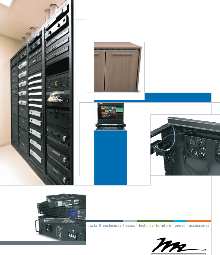 Middle Atlantic -罗格朗Legrand -音视频系统Audio and video system