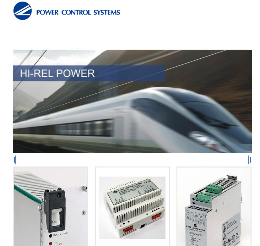 POWER CONTROL SYSTEMS-电源power supply