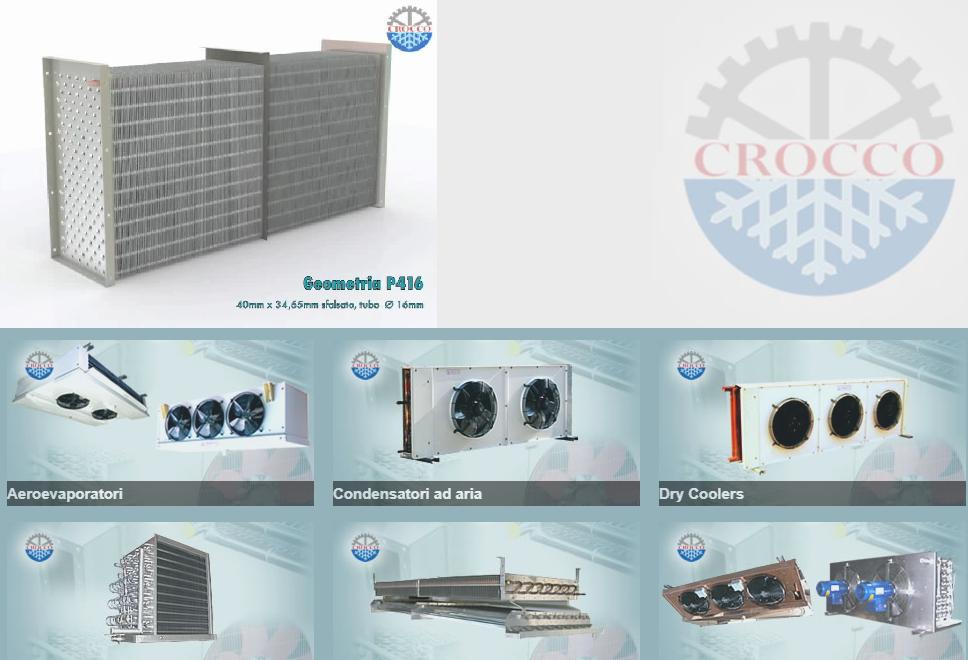Crocco (空调)蒸发器 Evaporator