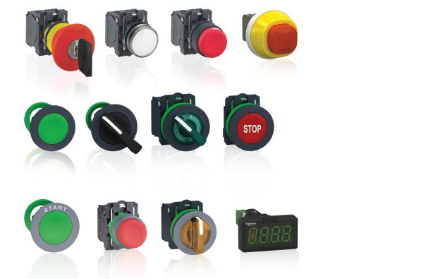 Schneider Electric施耐德电气控制按钮和信号灯 Harmony XB5 plastic control and signaling units