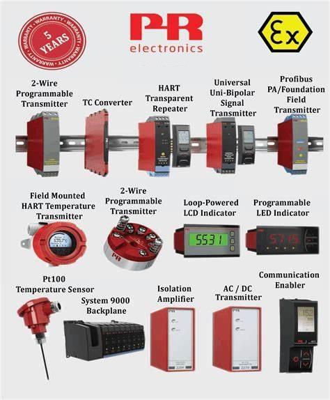 PR electronics-过程自动化控制process automation control