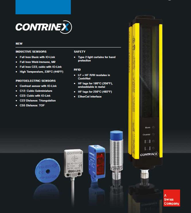 CONTRINEX 传感器SENSORS